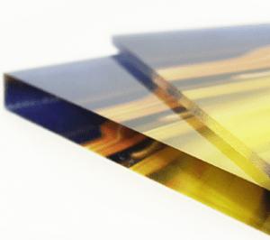 Acrylglas als Detailansicht
