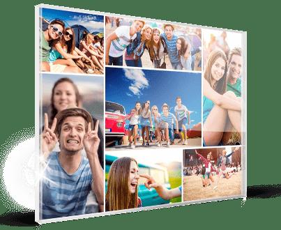 Fotocollage aus eigenen Bildern gedruckt
