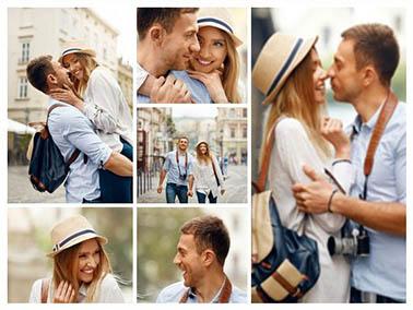 Fotocollage aus eigenen Fotos