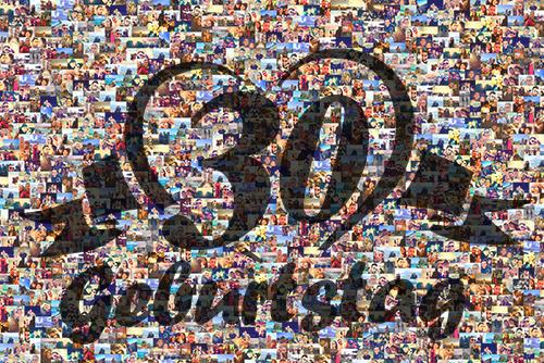 Fotomosaik 30. Geburtstag