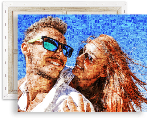 fotomosaik auf leinwand top
